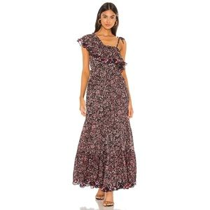 Free People 'What About Love' Floral Ruffle Dress